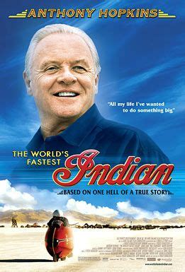 Motorrad Film Mit Anthony Hopkins the world s fastest indian wikipedia
