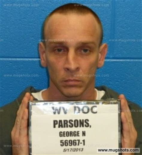 Wood County Wv Court Records George Parsons Mugshot George Parsons Arrest Wood