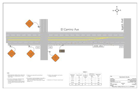 traffic management plan template plan template