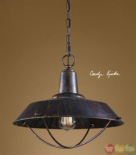 Pendant Light Bronze Arcada Traditional 1 Light Bronze Pendant 21974