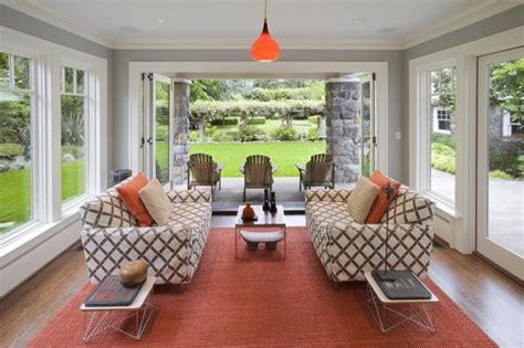 deck leads to four seasons room denbesten real estate 13 marvelous contemporary sunroom designs for your backyard