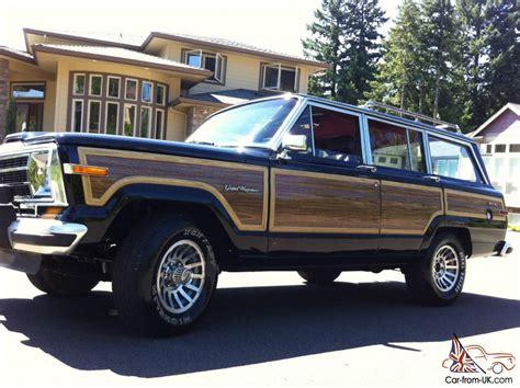 1988 Jeep Grand Wagoneer 1988 Jeep Grand Wagoneer 4x4 V8 No Reserve