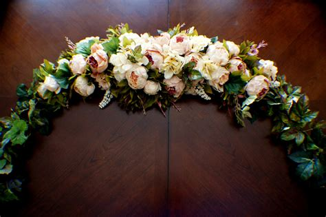 wedding arch flower swag wedding arch swag large wedding swag wedding garland