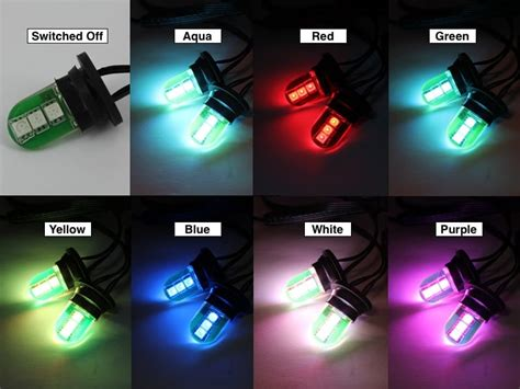 color changing headlight led strobe kit oznium