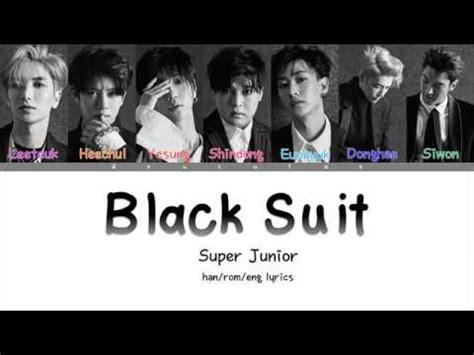 Download Mp3 Super Junior Black Suit | t 233 l 233 charger super junior black suits mp3 gratuit