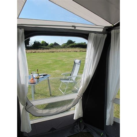 large caravan awning ka rally ace 400 poled large caravan porch awning