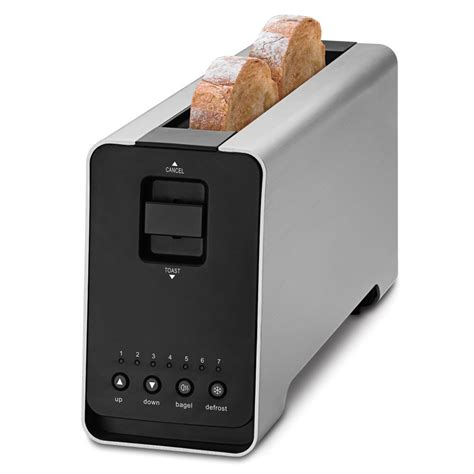 Best 2 Slice Toaster the best two slice toaster hammacher schlemmer