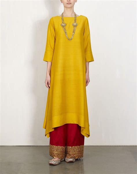 Baju India Kurti 5 yellow kurta with embroidered lajjoo ethnic suit anarkali jackets