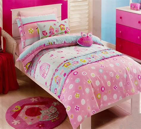 bed covers for girls birdcage quilt cover set doona duvet cover girls bedding