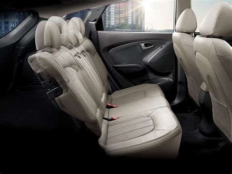 cars with reclining back seats ix35 reclining rear seats hyundai australia