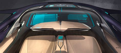 bmw  concept interior design sketch car body design