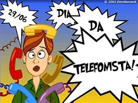 telefonista da casa diad dia da telefonista