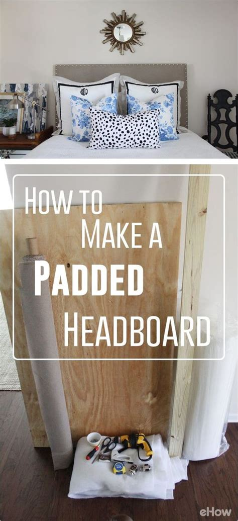 how to fix bed head how to make a padded headboard for a bed diy headboards
