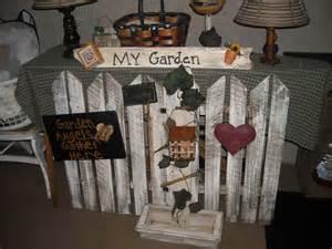 Handmade Primitive Decor - handmade primitive garden decor primitive