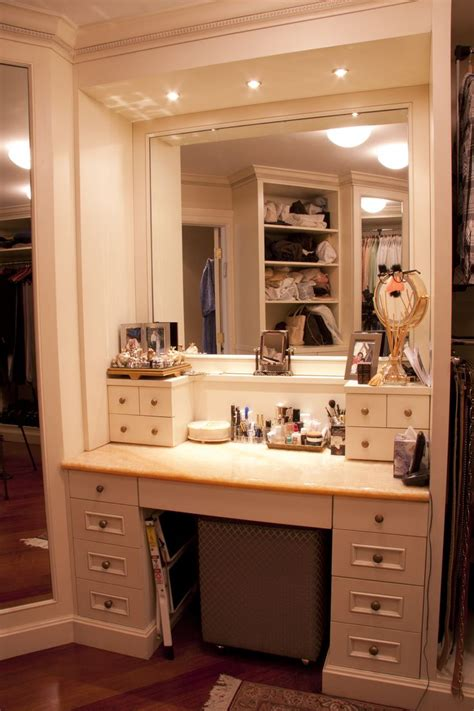 vanity up table master walk in closet up table closet