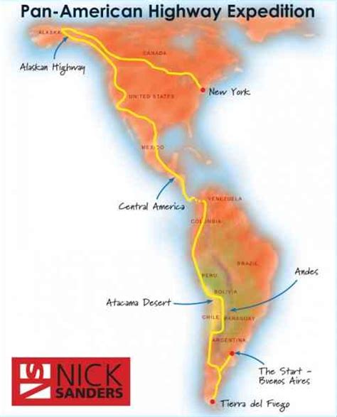 map of the pan american highway map pan american highway map travel
