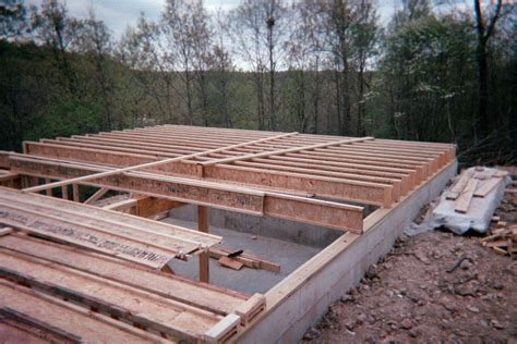 Roof Deck Plan Foundation Floor Joists