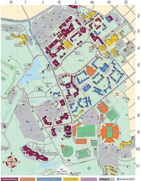 virginia tech interactive map virginia tech map my