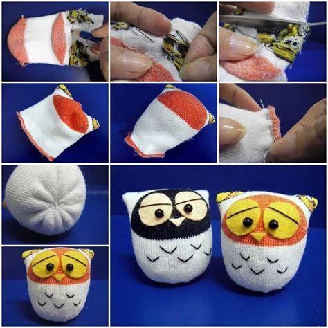 diy crafts with socks diy sock owls