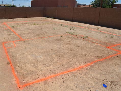 layout marking of building building a swimming pool layout