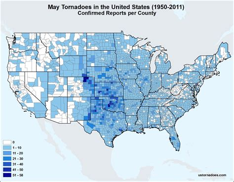 map of tornadoes in usa county map archives u s tornadoes