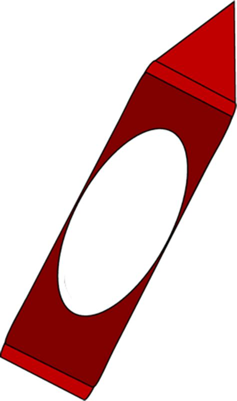 big red crayon clip art big red crayon image