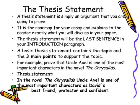 How To Write A Thesis Essay by How To Write An Essay