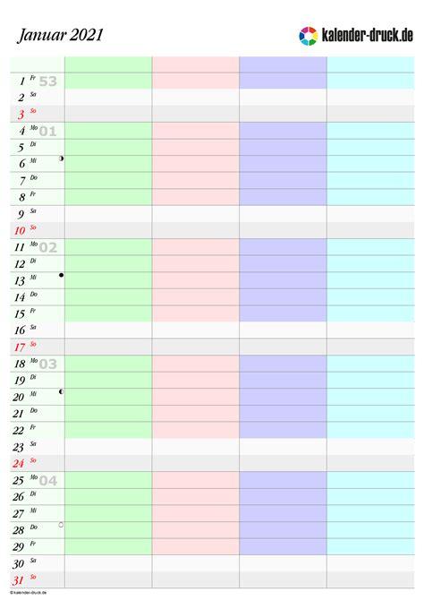 kostenlos familienkalender  und  zum selbst ausdrucken kalender druckde