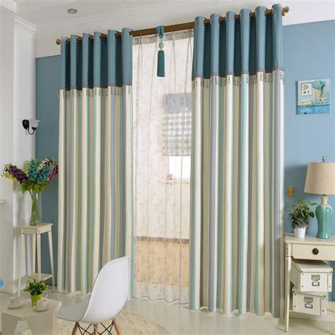 sea curtains new arrival linen cotton striped modern blue mediterranean
