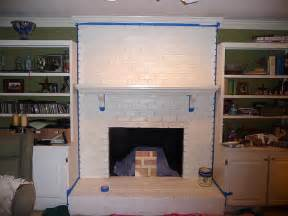 Faux Finish Paint Colors - how to paint over brick fireplace brick anew blog