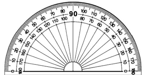 printable protractor small classeq teaching angles primary 4