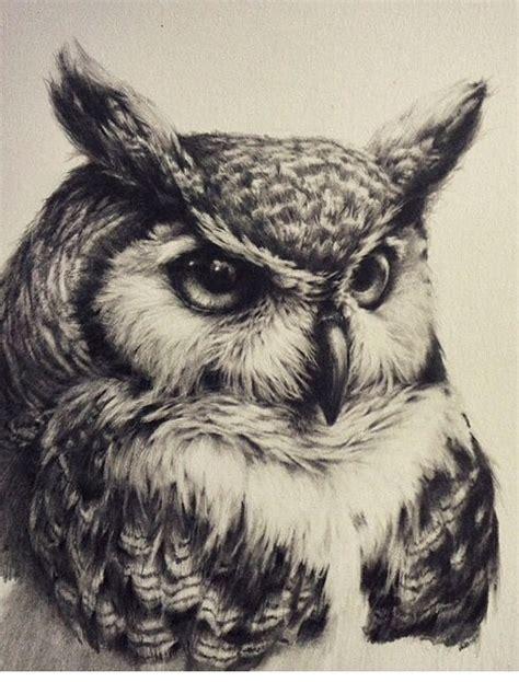 owl tattoo black and white owl tattoo realistic black and white tattoo coruja