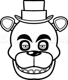 Freddy Fazbear Drawing Google Search Beekay Freddy Coloring Pages 5 Nights At Freddy S