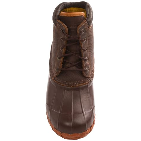 lacrosse 5 eye leather snow boots for 6973x save 72