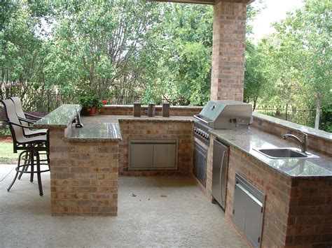 bbq kitchen ideas outdoor kitchen brick kitchen decor design ideas