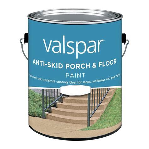 valspar   base  anti skid porch  floor paint