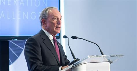 Ma In Government Mba Jhu by Michael Bloomberg Interesting Facts About The Former Nyc