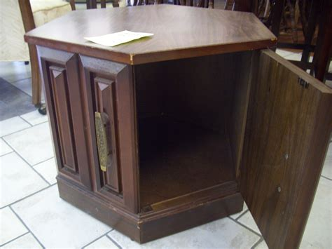 Cheap Living Room End Tables Cheap Octagon Shaped End Table With Single Drawer For Popular Home Interior Decoration