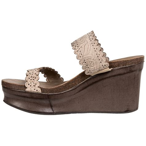 otbt wedge sandals otbt park wedge sandals for 123gk save 36