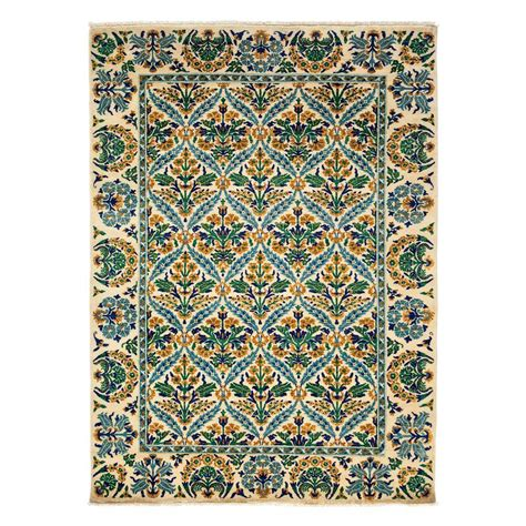 6 by 8 foot rugs darya rugs arts ivory 6 ft 2 in x 8 ft 8 in indoor area rug m1780 188 the home depot