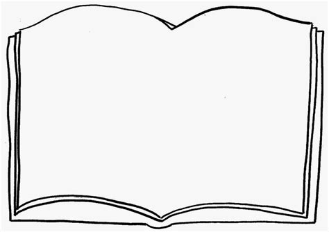 book shape template open book outline clip embroidery open image