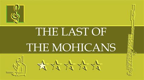 theme song last of the mohicans flute notes tutorial promentory the last of the