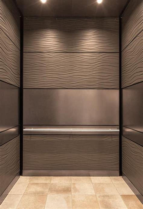 elevator cab interior finishes images  pinterest