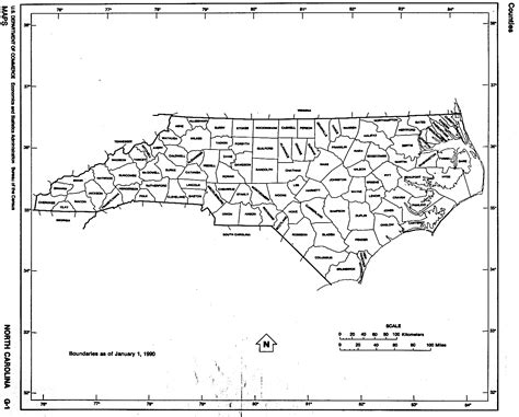 printable maps north carolina north carolina free map