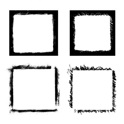 pincel cuadrado photoshop pinceles cuadrados descargar vectores gratis
