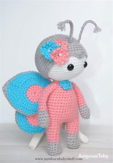 amigurumi knitting patterns baby knitting patterns amigurumi doll in butterfly costume