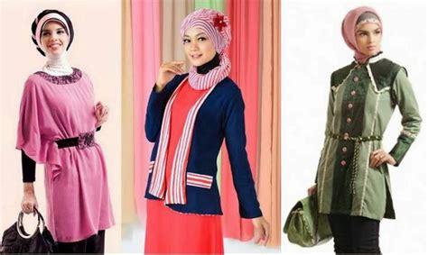 Foto Baju Muda 20 model baju atasan muslim modern anak muda 2017 eksklusif