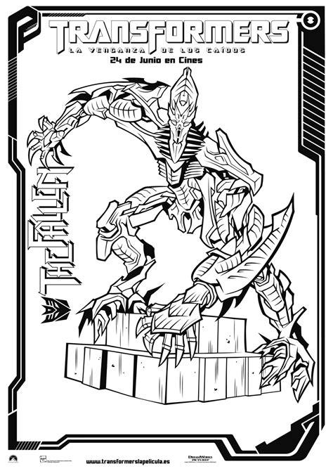 dibujos para pintar transformers colorear transformers