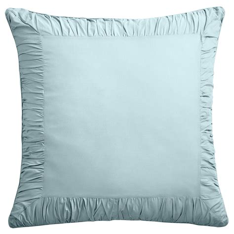 Facts About Pillows by Light Blue Pillow Shams Best Decor Things