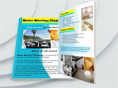 company profile design cape town graphic design cape town flyer design print brochure